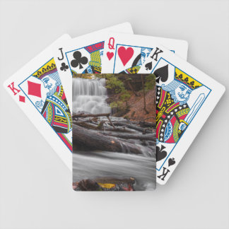 Waterfall 3 bicycle playing cards