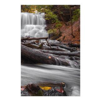 Waterfall 3 stationery
