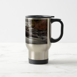 Waterfall 3 travel mug