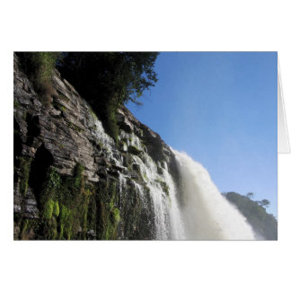 Waterfall 3 Venezuela Jungle Landscape Fine Art Card