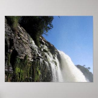 Waterfall 3 Venezuela Jungle Landscape Fine Art Poster