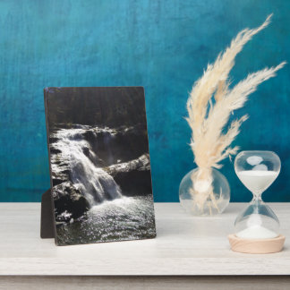Waterfall 5x7 With Easel Plaque
