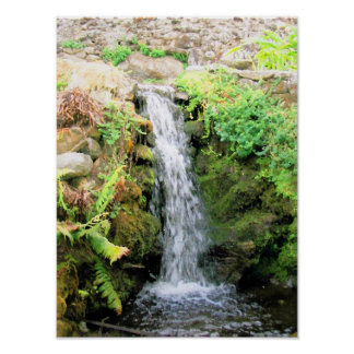Waterfall 6 Venezuela Jungle Landscape Fine Art Poster