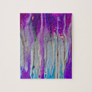 Waterfall Abstract Jigsaw Puzzle