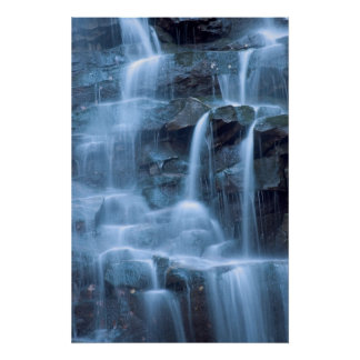 Waterfall Abstract   Print