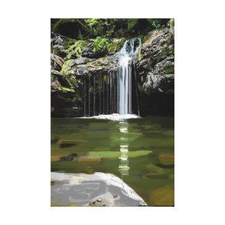Waterfall Alabama High Falls Canvas Print