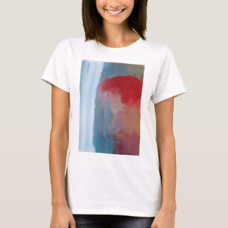 waterfall and the bleeding sun T-Shirt