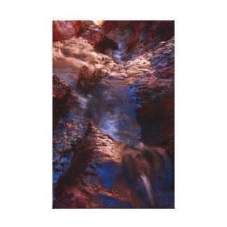 Waterfall at Arizona Hot Springs Canvas Print
