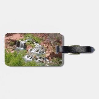 Waterfall at Havasupai, Arizona Luggage Tag