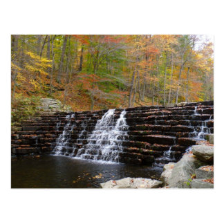 Waterfall at Laurel Hill State Park I Postcard