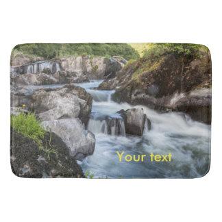 Waterfall bathmat Cenarth Falls Ceredigion Wales