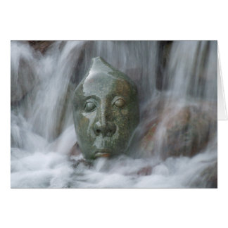 Waterfall Buda Card