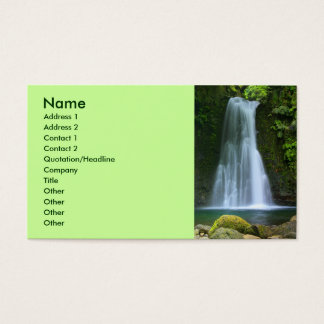 Waterfall Business Card