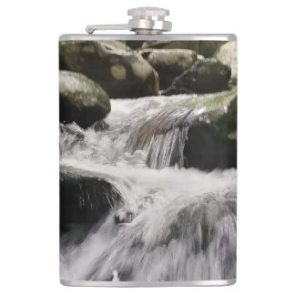 Waterfall Cascades Great Smoky Mountains Flasks