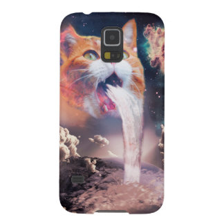 waterfall cat - cat fountain - space cat galaxy s5 cases