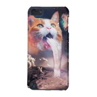 waterfall cat - cat fountain - space cat iPod touch (5th generation) cases