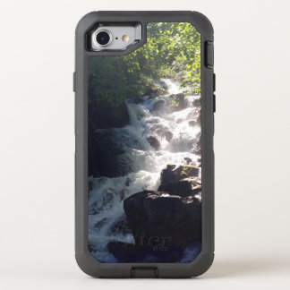Waterfall cell phone case