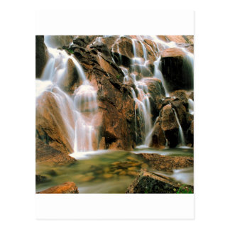Waterfall Cool Water Sawtooth Wilderness Idaho Postcard
