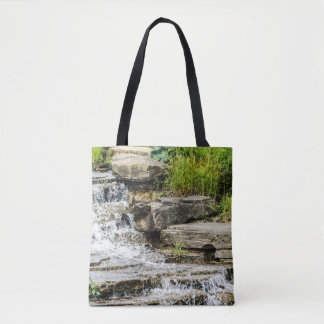 Waterfall Design Tote Bag