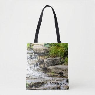 Waterfall Design Tote Bag