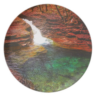 Waterfall Dinner Plates
