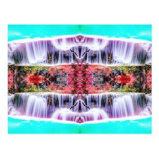 Waterfall Dreams Postcard