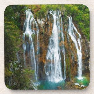 Waterfall elevated view, Croatia Coaster