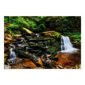 Waterfall Fantasy 19x13 Poster