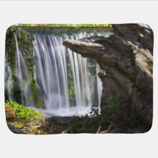 Waterfall Focused Baby Blanket