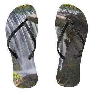 Waterfall Focused Flip Flops
