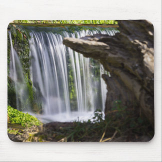 Waterfall Focused Mouse Pad