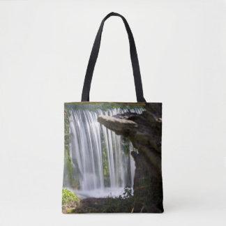 Waterfall Focused Tote Bag