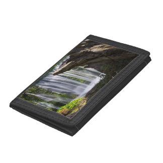 Waterfall Focused Tri-fold Wallet