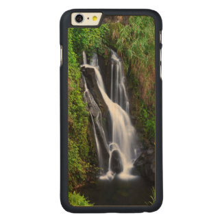 Waterfall, Hamakua coast, Hawaii Carved® Maple iPhone 6 Plus Case