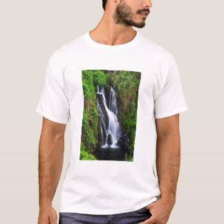 Waterfall, Hamakua coast, Hawaii T-Shirt