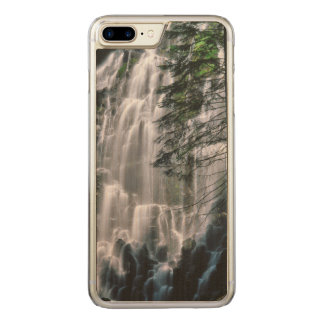 Waterfall in forest, Oregon Carved iPhone 8 Plus/7 Plus Case