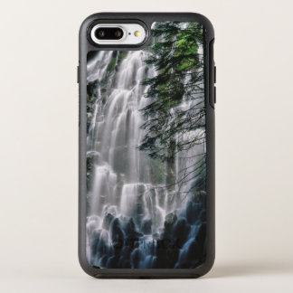 Waterfall in forest, Oregon OtterBox Symmetry iPhone 8 Plus/7 Plus Case