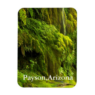 waterfall in Green Payson,Arizona Magnet