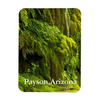 waterfall in Green Payson,Arizona Rectangular Photo Magnet