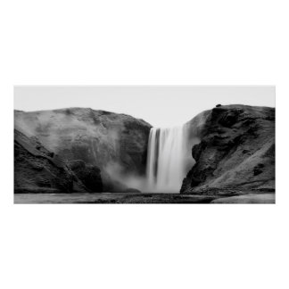 Waterfall in Iceland - Skógafoss Poster