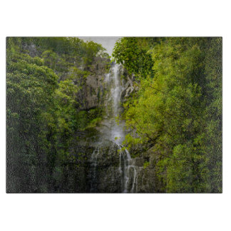 Waterfall in Maui Hawaii Boards