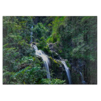Waterfall in Maui Hawaii Cutting Board