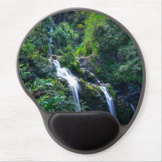 Waterfall in Maui Hawaii Gel Mouse Pad