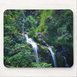 Waterfall in Maui Hawaii Mouse Pad