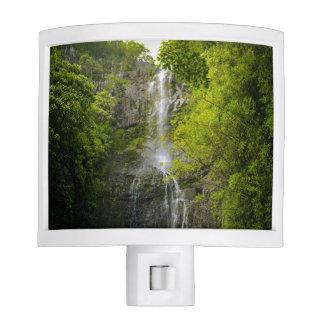 Waterfall in Maui Hawaii Night Lites