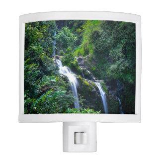 Waterfall in Maui Hawaii Nite Lite