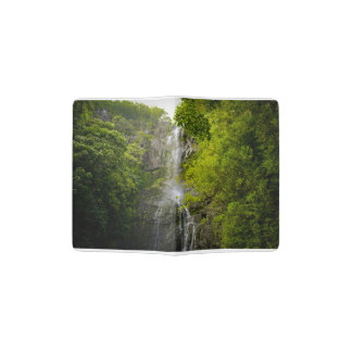 Waterfall in Maui Hawaii Passport Holder