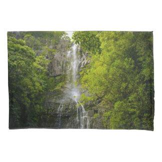 Waterfall in Maui Hawaii Pillowcase