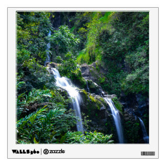 Waterfall in Maui Hawaii Wall Decal