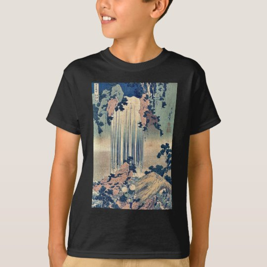 Waterfall in Mino Province by Katsushika,Hokusai T-Shirt
